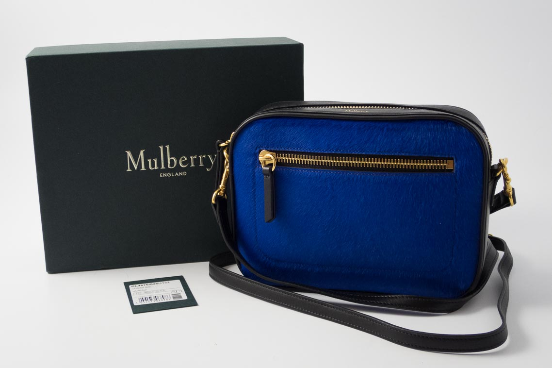 77f10b13db ... reduced mulberry alexa bag want authentic brand new current season  mulberry camera bag in indigo black