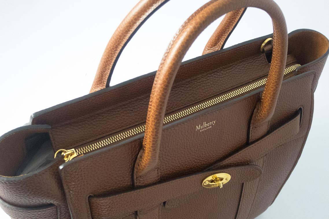 d1a4d5a5695 wholesale mulberry hobo bag 009da 17d48  low cost authentic preloved  mulberry small zipped bayswater in oak natural leather with gold hardware  the