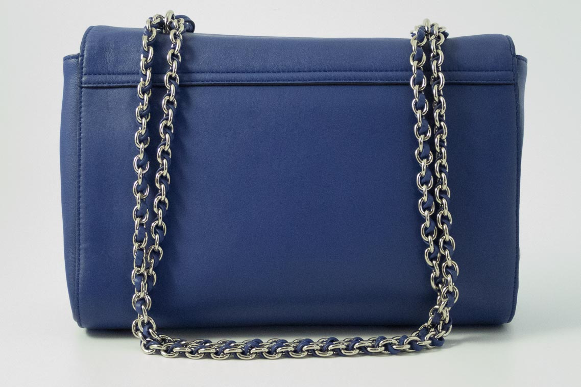 6f0239d921 ... bag 486ad d2a4a shopping authentic preloved mulberry medium lily in  indigo blue nappa with silver nickel hardware the finer ...