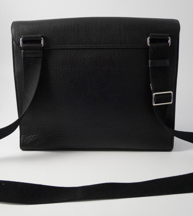 c8f6b02b36 ... ireland authentic preloved mulberry east west antony unisex messenger  bag in black with silver hardware the