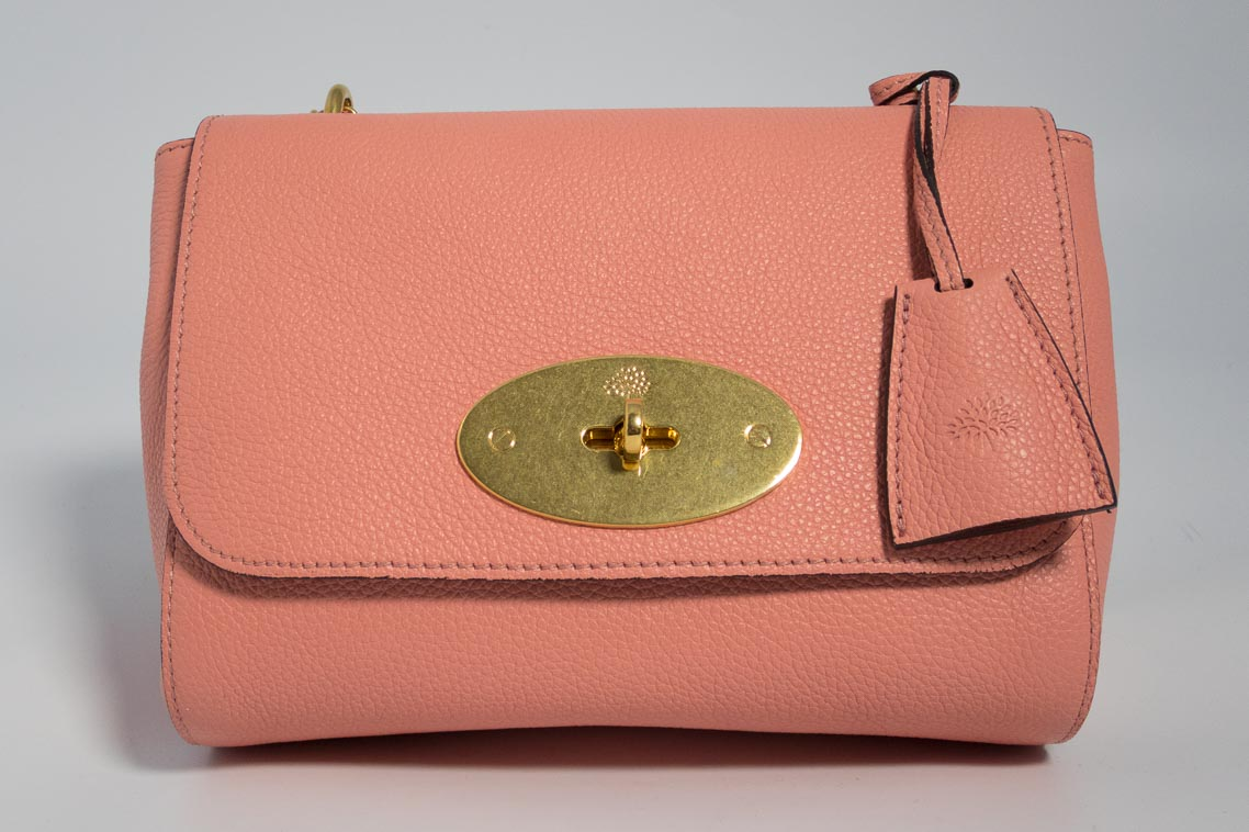 Authentic Brand New Mulberry Lily in Macaroon Pink with Gold Hardware  ce9264cd7b149
