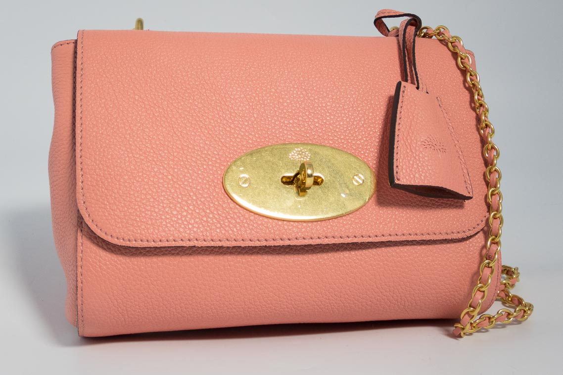 Authentic Brand New Mulberry Lily in Macaroon Pink with Gold Hardware  dc70d28f70289