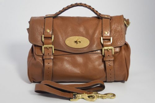 c3f3b301cb7 Authentic Preloved Mulberry Alexa in Oak Soft Buffalo with Brass Hardware  Ref 3