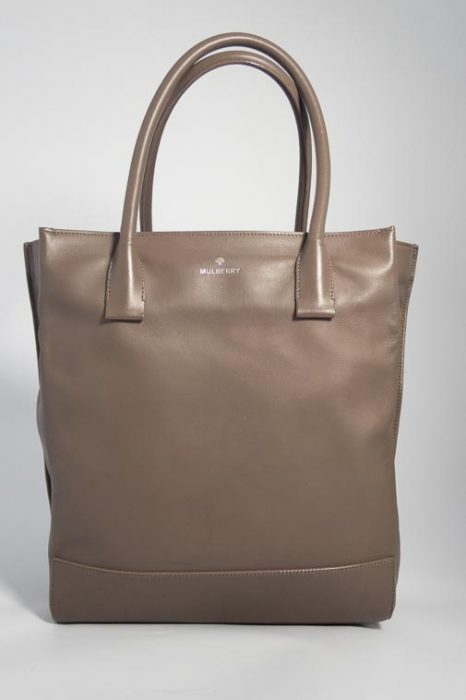 0564c4392d2 Authentic Preloved Mulberry Arundel Tote in Taupe with Silver Nickel  Hardware