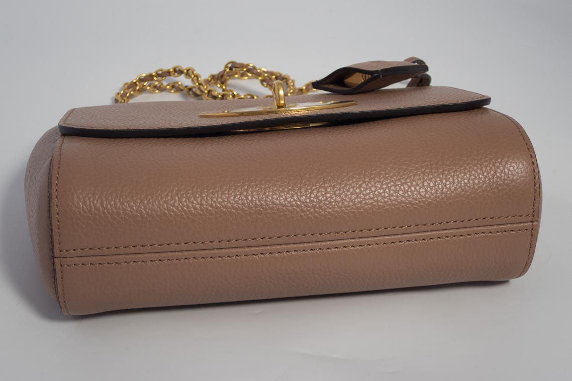 0be85e30de Authentic Brand New Mulberry Lily in Dark Blush Pink Small Classic Grain  Leather with Gold Hardware