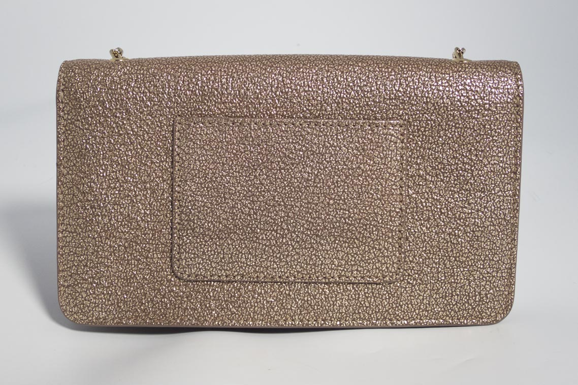 1361aeae0ec Authentic Preloved Mulberry Bayswater Clutch Bag in Metallic Mushroom Gold  with Soft Gold Hardware | The Finer Things Aberdeen