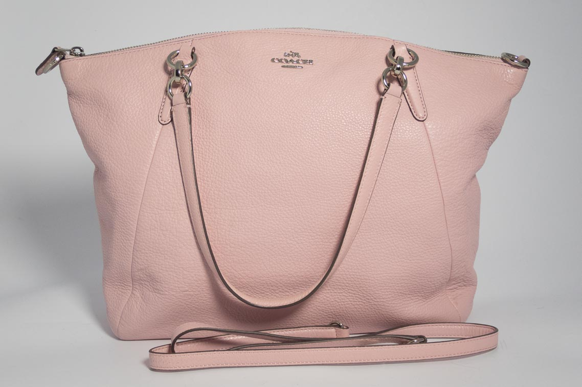 4a0845b65d Previous  Next. 1  2. Previous  Next. Authentic Preloved Coach Kelsey in Baby  Pink with Silver Hardware