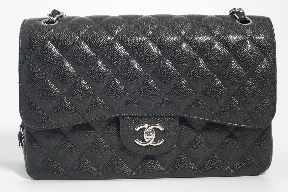 8adcf4c175f66 Previous  Next. 1  2  3  4  5  6. Previous  Next. Authentic Preloved but As New  Chanel Jumbo Classic Timeless Double Flap Bag in Black Quilted ...