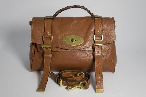 cecf0776d3 Authentic Preloved Mulberry Alexa In Oak Soft Buffalo with Brass Hardware